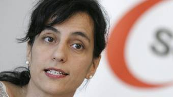 Vania Alleva heisst die erste Frau an der Spitze der Gewerkschaft Unia (Archiv)