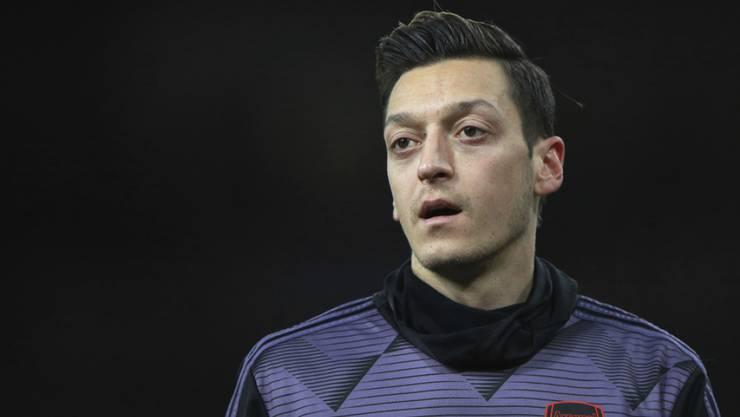 Privates Glück in denkwürdigen Zeiten: Fussballer Mesut Özil ist zum ersten Mal Vater geworden.