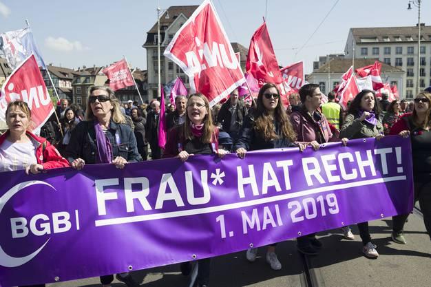 1. Mai Umzug in Basel