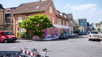 Geräumtes besetztes Haus Thürkheimerstrasse