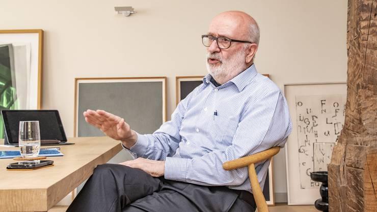 Rolf Soiron war einer grössten Topmanager der Schweiz.