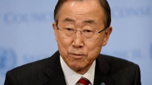 Ban Ki Moon will 2015 Weichen stellen (Archiv)
