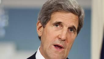 US-Aussenminister John Kerry weilt gegenwärtig in Afghanistan (Archiv)
