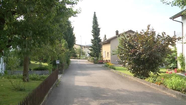 Im Nordringquartier in Gränichen versuchten die Täter, in weitere Häuser zu gelangen.