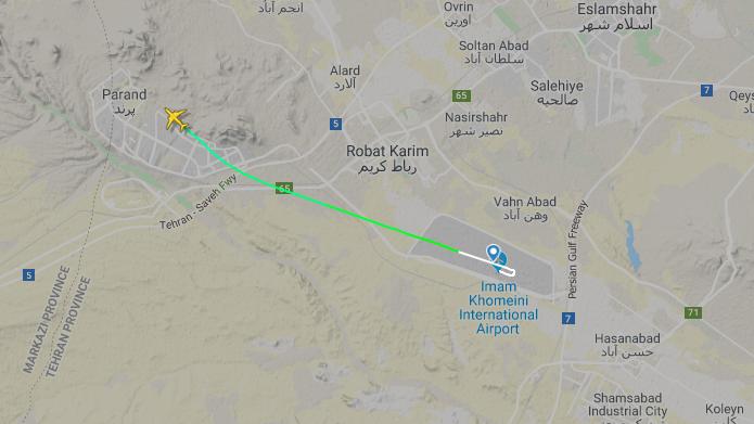 Passagierflugzeug im Iran abgestürzt