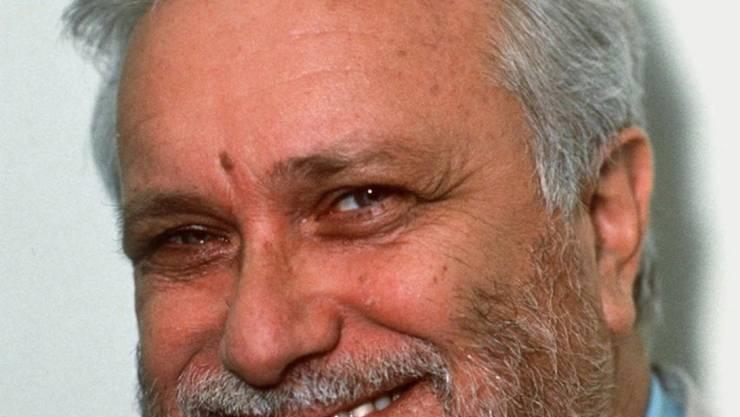 """Luciano De Crescenzo wurde Ende der 1980 Jahre mit seinem Buch """"Also sprach Bellavista"""" weltberühmt; am Donnerstag ist der italienische Bestseller-Autor mit 90 Jahren in Rom gestorben. (Archivbild)"""