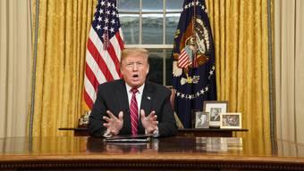 Trump Rede zu Shutdown