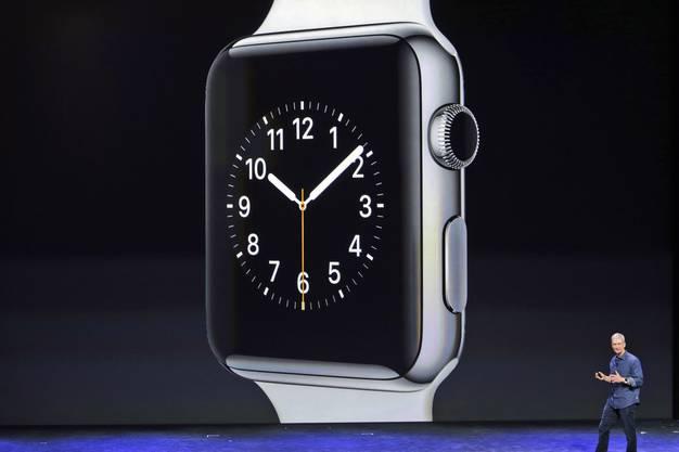 Die Apple Watch wird auch mit einem 18 Karat Gold-Design erhältlich sein