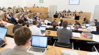 Der Aargauer Grosse Rat hat das Budget 2015 mit einem Mini-Überschuss gutgeheissen.