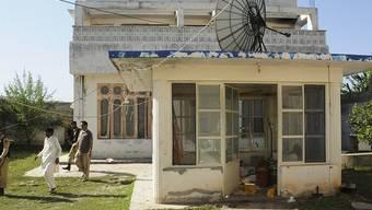 Das Gästehaus auf Osama bin Ladens Anwesen im pakistanischen Abbottabad (Symbolbild)