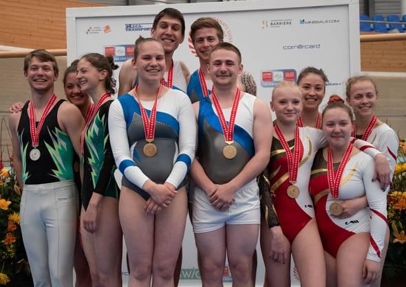 Mannschaft STV Möriken-Wildegg 1 auf dem ersten Platz