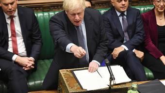 Schickte Brief für Brexit-Aufschub ohne Unterschrift nach Brüssel: der britische Premierminister Boris Johnson.