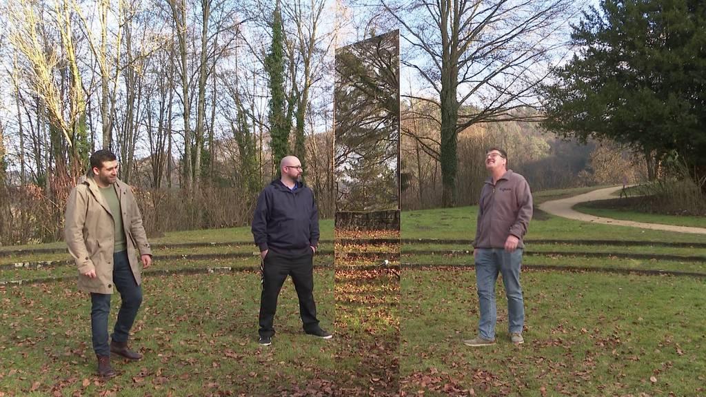 Rätsel um Monolith in Gränichen gelüftet