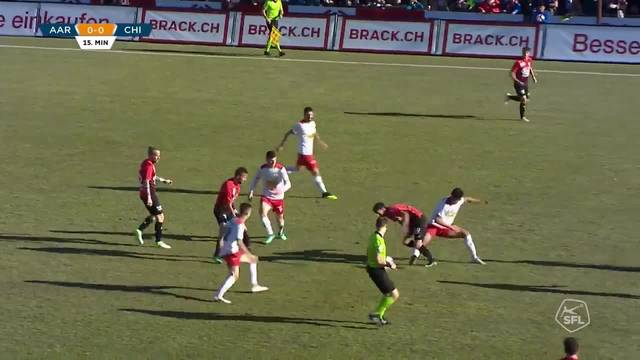 Challenge League: 21. Runde, FC Aarau - FC Chiasso, Highlights