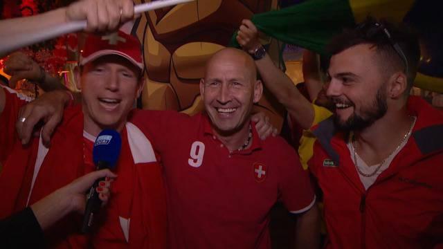 Schweizer in WM-Euphorie: «Viertelfinal - wir kommen!»
