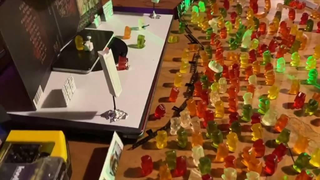 Walliser Band geht viral mit Gummibärchen-Konzert