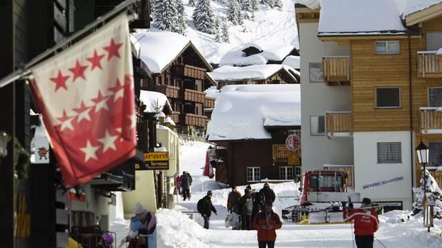 Der Kanton Wallis schliesst sich beim Zweitwohnungsbau den Kantonen Bern und Freiburg an