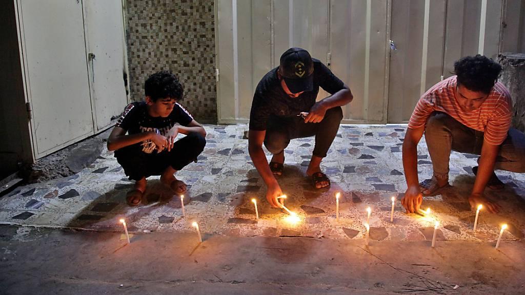 Terroranschlag auf Markt in Bagdad - Täter festgenommen