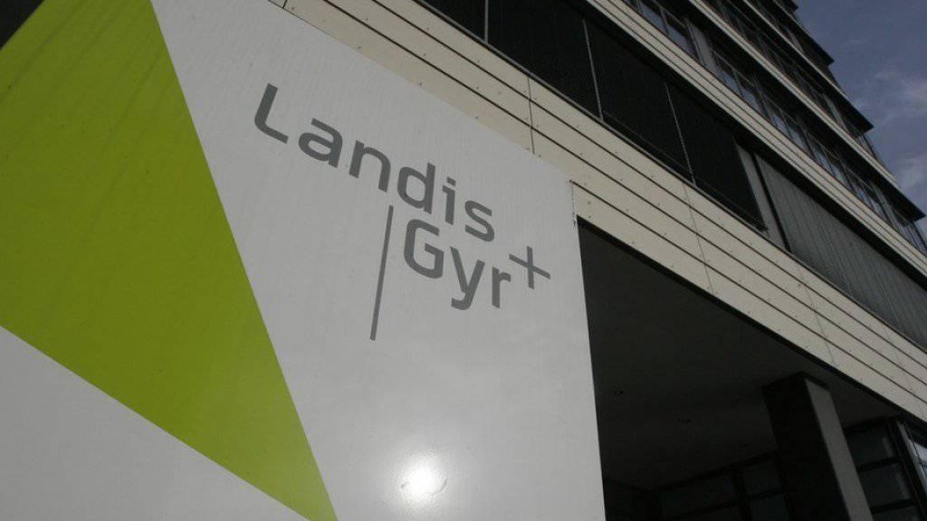 Die ersten Handelsstunden nach dem Börsengang von Landis+Gyr sind nicht von Euphorie gezeichnet. (Archiv)