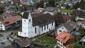 Die Kirche in Egerkingen.