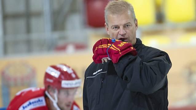 Mit Bengt-Ake Gustafsson steht neu ein bekannter Name an der Bande des EHC Olten.