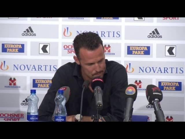 Trainerwechsel beim FC Basel: Die Medienorientierung vom 10. April 2017 in voller Länge.