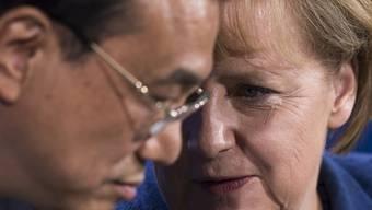 Leise aber scharfe Töne: Li und Merkel im Gespräch