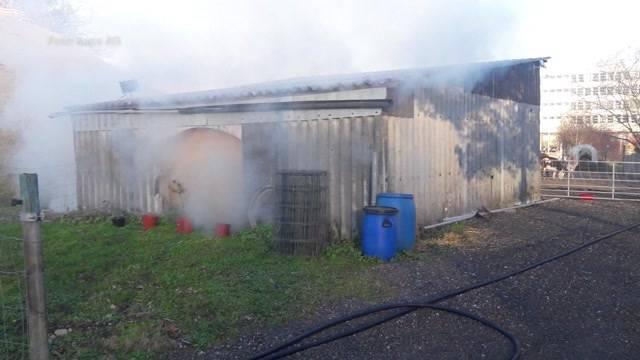Bauer Stäger von Brandstiftern heimgesucht