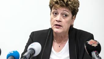 Die EDK-Präsidentin und Zürcher Bildungsdirektorin, Silvia Steiner, erklärt ihre Standpunkte zur Matura und den Entscheiden im Bildungsbereich. (Archivbild)