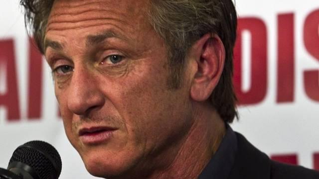 Schauspieler Sean Penn nimmt sein Engagement in Haiti ernst