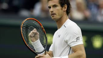 Eins dieser von Andy Murray getragenen Handgelenk-Schweissbänder wird von Camilla für einen guten Zweck versteigert (Archiv 8.7.)