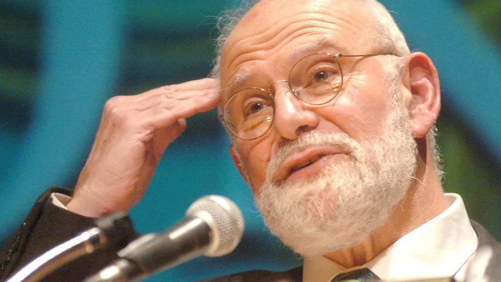 Er hat die Welt auf seinen Tod vorbereitet: Der Autor und Hirnforscher Oliver Sacks starb im Alter von 82 Jahren an Krebs (Archiv)