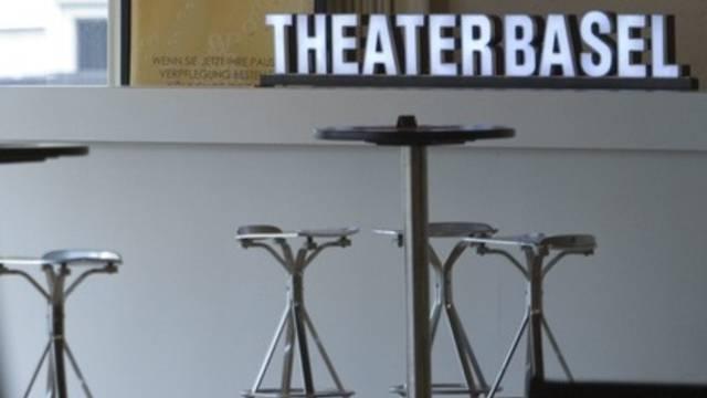 Im Foyer des Theater Basel (Archiv)