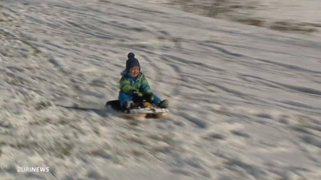Kinderstrahlen dank Winter-Wunderland