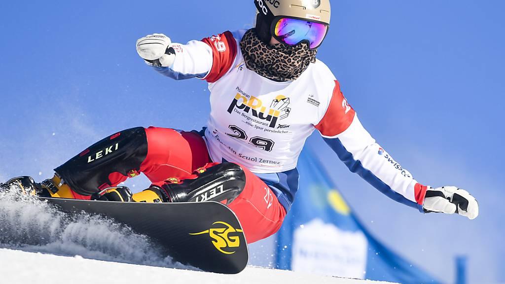 Kein Podestplatz für Schweizer Snowboarder