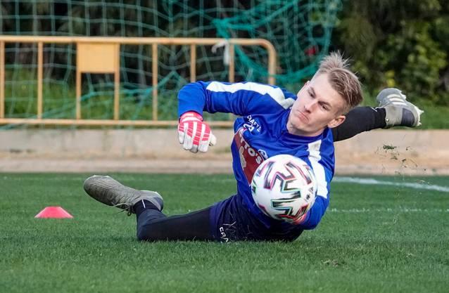 Im vergangenen Jahr konnte sich Enzler beim FC Luzern nur im Training zeigen