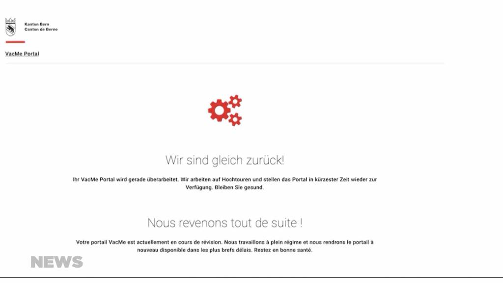 Frust bei Impfwilligen: Keine freien Termine und totale Überlastung der Internetseite