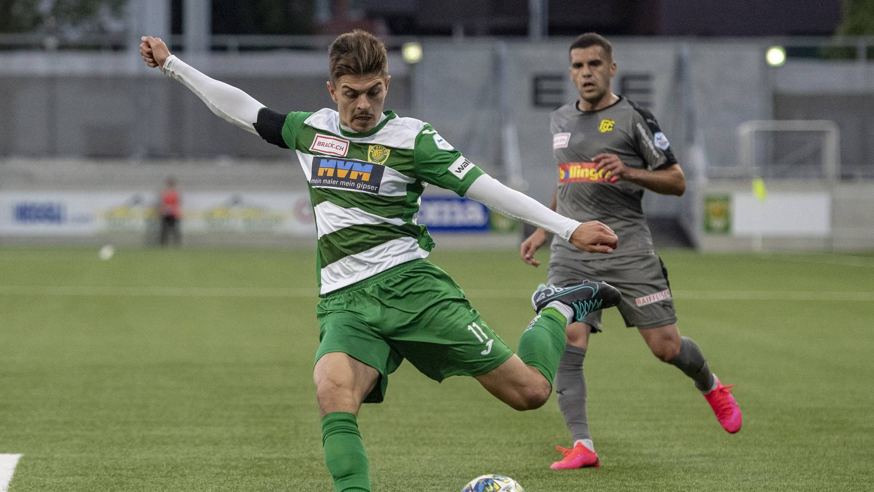 SC Kriens 3:0-Heimsieg gegen Schaffhausen 20. Juni 2020