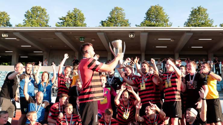 Bubendorf feiert den Meistertitel.