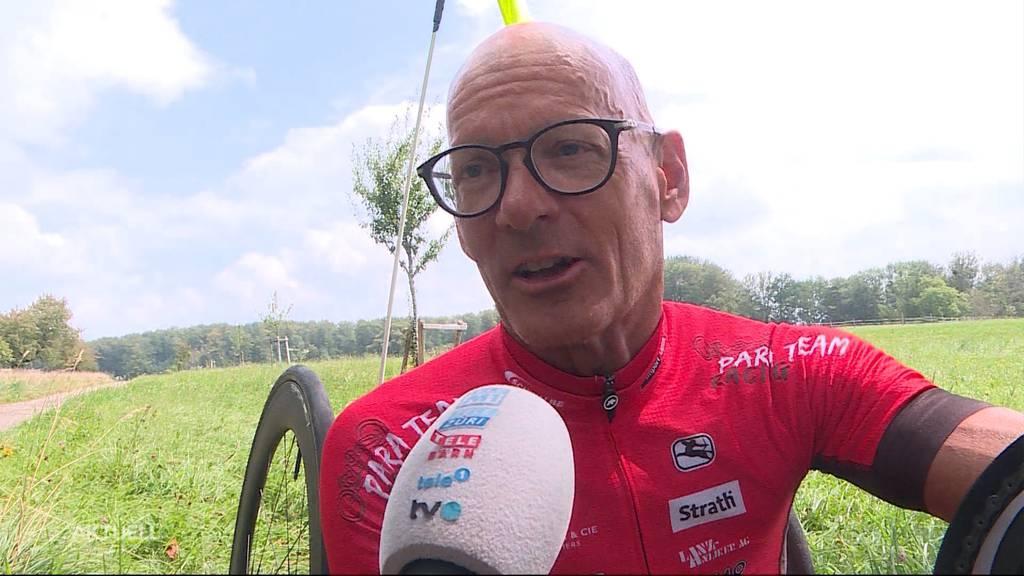 Erfolgreicher Schweizer Sportler: Heinz Frei mit 63 Jahren an den Paralympics in Tokio