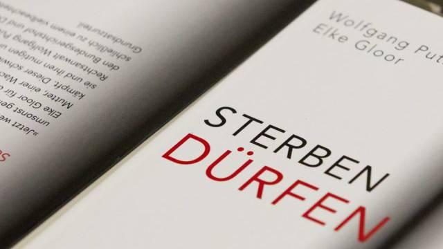 """Buch """"Sterben dürfen"""" am Exit Sterbehilfe Kongress 2012 in Zürich"""