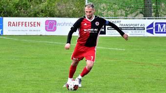 Brahim Maloki, Captain beim FC Klingnau.
