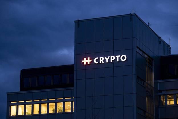 Dieses Bild ging um die Welt: Der Sitz der Crypto AG.