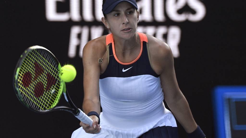 Belinda Bencic war im Final ohne Chance