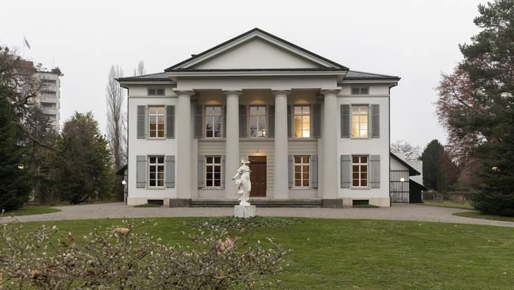 Das Säulenhaus Aarau kann  besichtigt werden. (Archivbild)