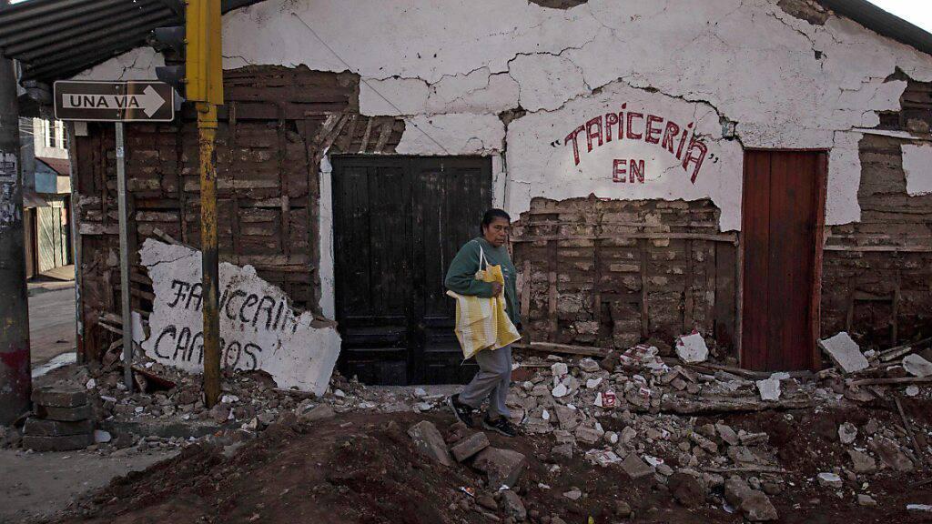 In Guatemala hat die Erde gebebt. Vor acht Jahren hatte ein Erdbeben der Stärke 7,3 auf der Richterskala Tote und Verletzte gefordert. (Archivbild)