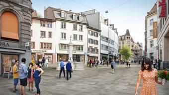 Umgestaltung Freie Strasse Basel