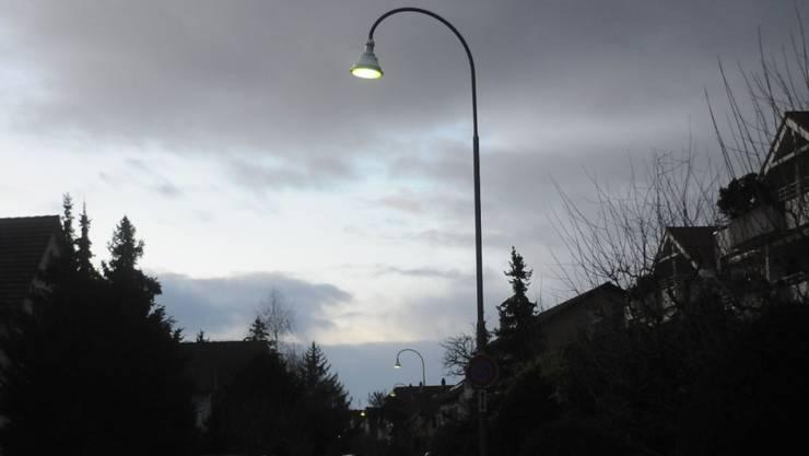 Moderne LED-Leuchten erhält auch Ammerswil.
