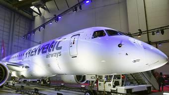 Helvetic Airways legt seine Flotte wegen den Auswirkungen des Coronavirus temporär still und beantragt Kurzarbeit. (Archiv)