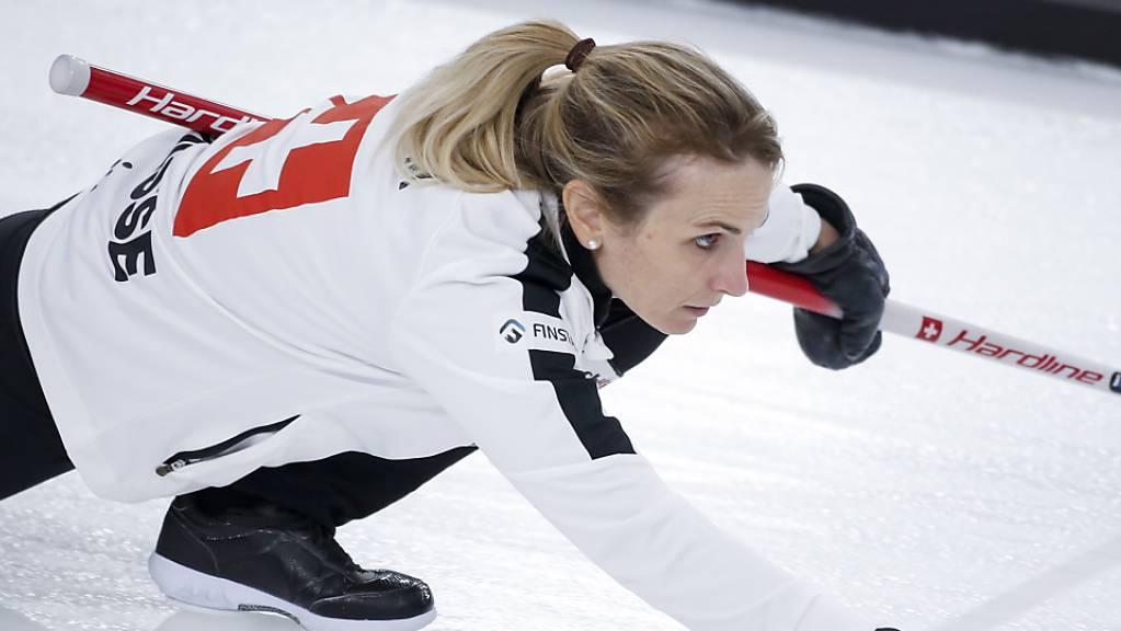 Skip Silvana Tirinzoni führte ihr Team zu einem weiteren Sieg.